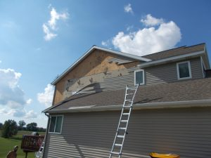 Siding Wind Damage