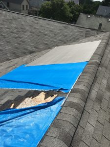 Roof Wind Damage