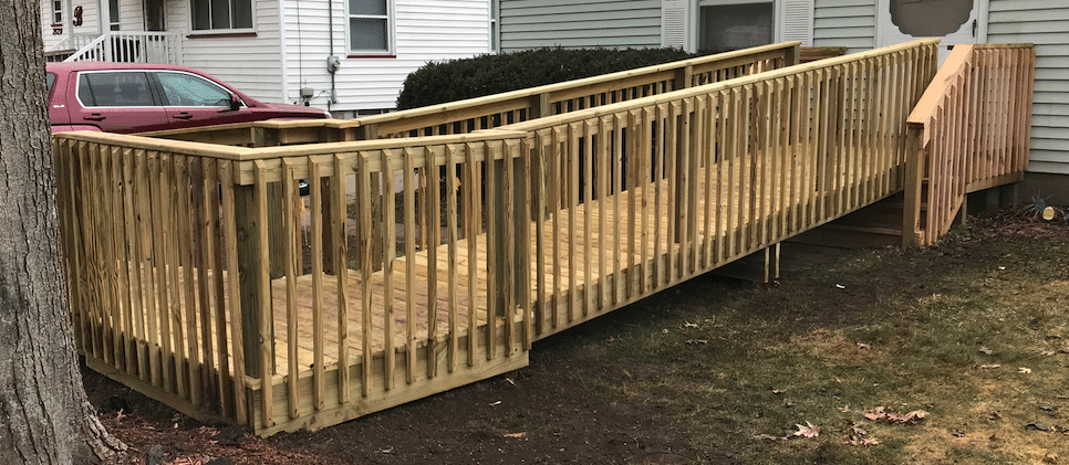 Wheelchair Ramp Build Grand Rapids