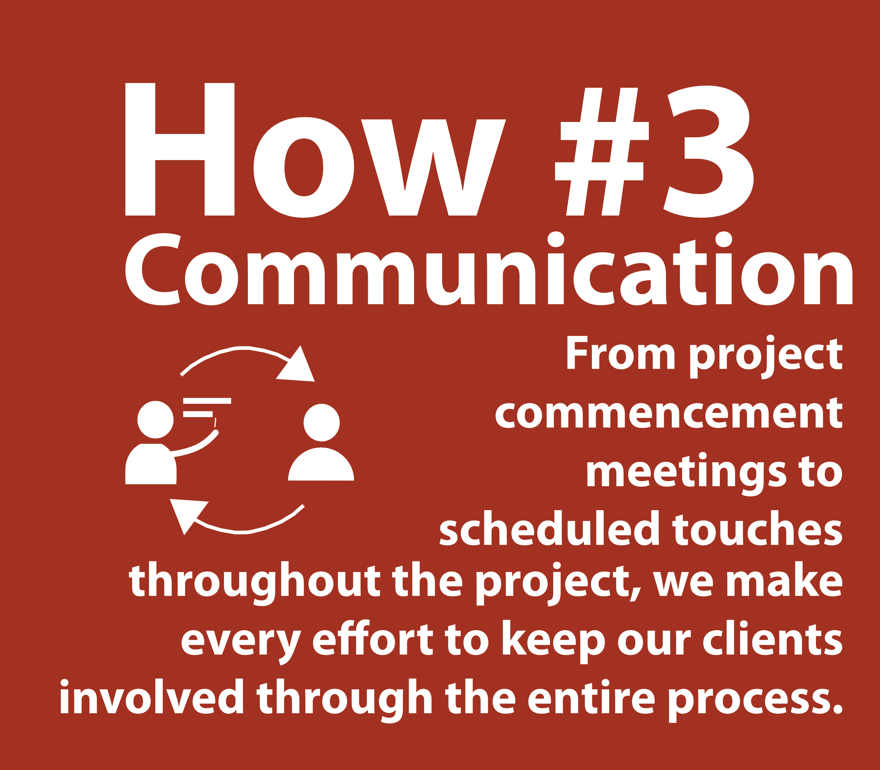 How - Contractor and Customer Communication