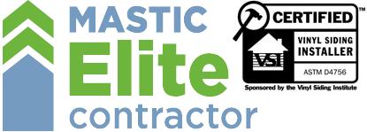 Mastic Elite VSI Certified Siding Installer Grand Rapids